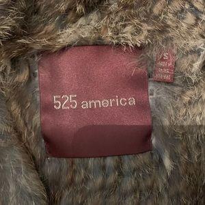 Real Rabbit Fur Vest - Like New!